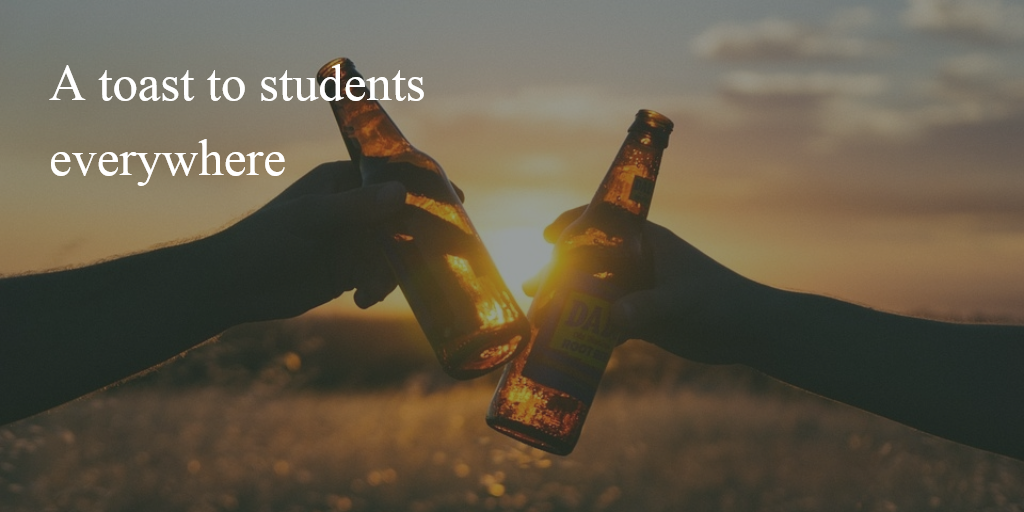 Reads: A toast to students everywhere